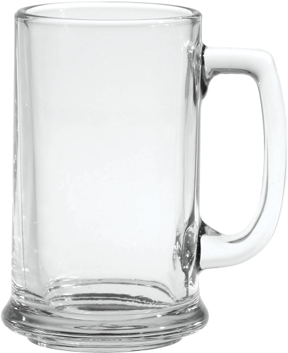 15 oz. Glass Tankard