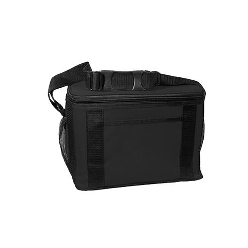 Black Jumbo Kooler Bag as seen from the front