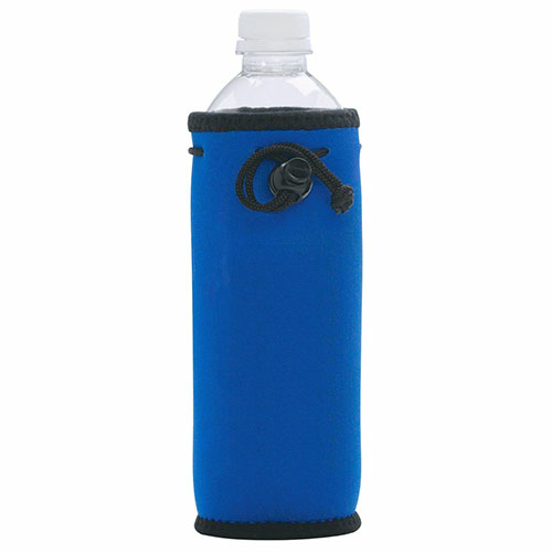 Royal Blue Bottle Bag as seen from the front