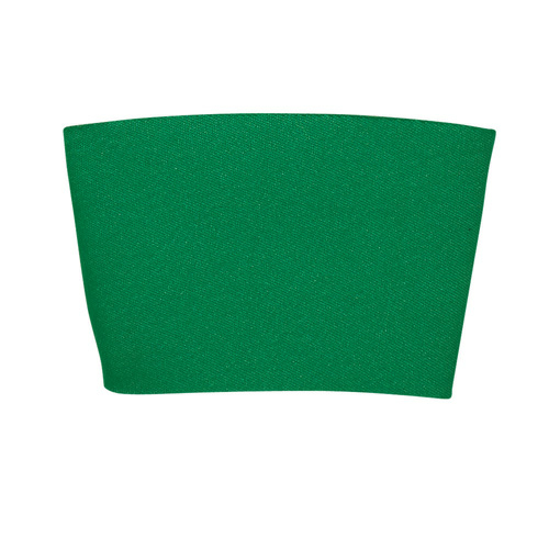 Green Comfort Grip Cup Sleeve as seen from the front