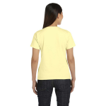 Canary Women's Short Sleeve Organic Fine Jersey Tee as seen from the back
