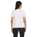 Salt Women's Short Sleeve Organic Fine Jersey Tee as seen from the back