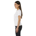 Salt Women's Short Sleeve Organic Fine Jersey Tee as seen from the sleeveleft