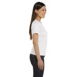 Salt Women's Short Sleeve Organic Fine Jersey Tee as seen from the sleeveright