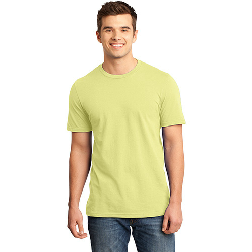 Canary Unisex Short Sleeve ORGANIC Tee as seen from the front