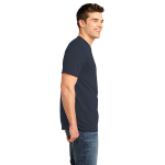 Ocean Unisex Short Sleeve ORGANIC Tee as seen from the sleeveright