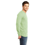 Avocado Unisex ORGANIC Long Sleeve T as seen from the sleeveright