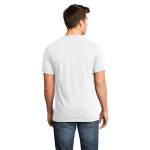 Salt Organic Short Sleeve V-neck as seen from the back