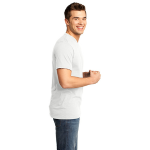 Salt Organic Short Sleeve V-neck as seen from the sleeveright