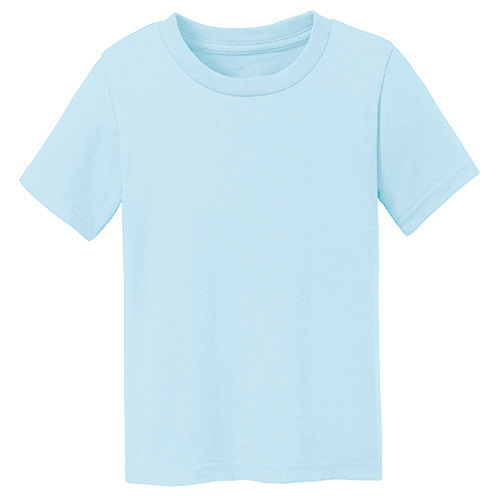 Heaven Organic Toddler Short Sleeve Crew Tee as seen from the front