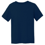 Ocean Organic Toddler Short Sleeve Crew Tee as seen from the back