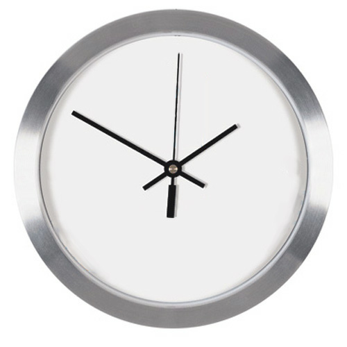 Full Color Metal Wall Clock — 10