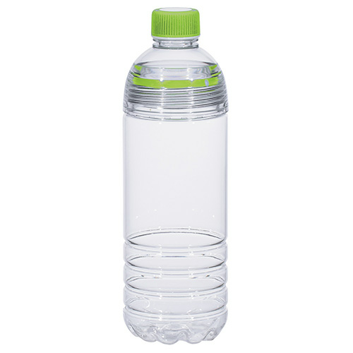 Lime Green 28 Oz. Easy-Clean Water Bottle as seen from the front