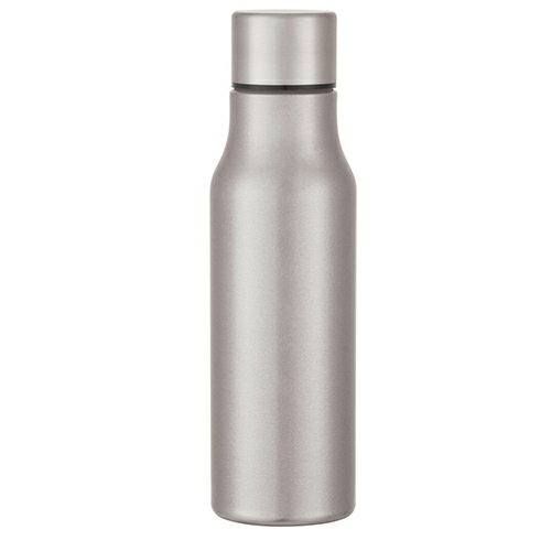 Stainless Steel 24 Oz. Stainless Steel Bottle as seen from the front