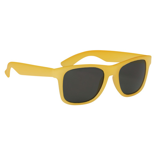 Yellow Color Changing Malibu Sunglasses as seen from the front