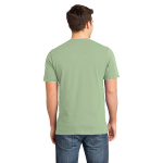 Recycle Green Unisex UNION MADE Recycled Jersey Tee as seen from the back