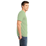 Recycle Green Unisex UNION MADE Recycled Jersey Tee as seen from the sleeveright