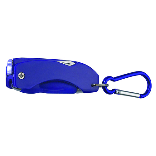 Blue 5 In 1 Multi-Function Tool as seen from the front