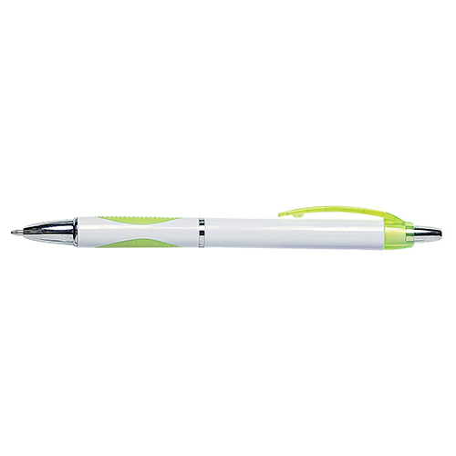 Lime Sassy Pen as seen from the front