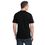 Eclipse Unisex Bamboo Organic Cotton Tee as seen from the back