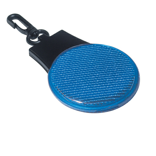 Blue Tri-Function Blinking Light as seen from the front