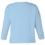 Heaven Organic Infant Long Sleeve Crew Thermal as seen from the back