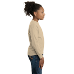 Natural Organic Toddler Long Sleeve Thermal as seen from the sleeveright