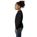 Night Organic Toddler Long Sleeve Thermal as seen from the sleeveleft