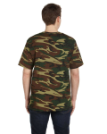 Woodland Woodland Camo Tee as seen from the back