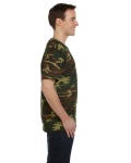 Woodland Woodland Camo Tee as seen from the sleeveright