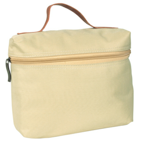 Beige Cosmo Bag as seen from the front