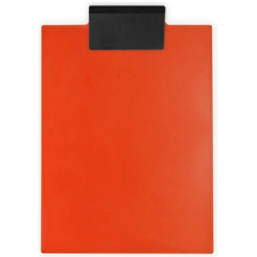 Orange/eco Black Letter Clipboard as seen from the front