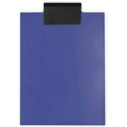 Recycled Eco Navy Blue/eco Black Letter Clipboard as seen from the front