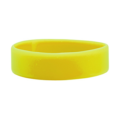Yellow Color Filled Wristband 1