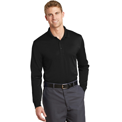 CornerStone Select Snag-Proof Long Sleeve Polo - Embroidered