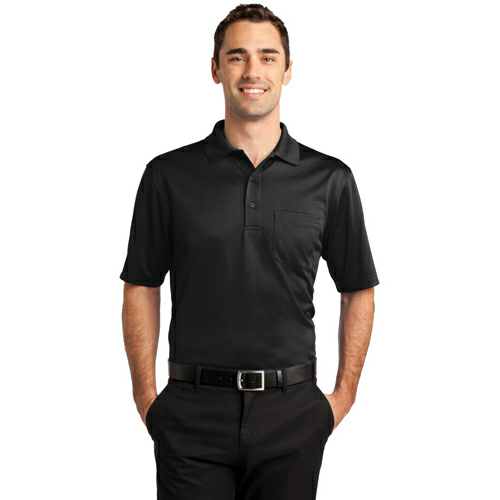 CornerStone Select Snag-Proof Pocket Polo - Embroidered