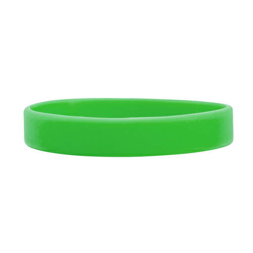 Green Debossed Wristbands 1/2