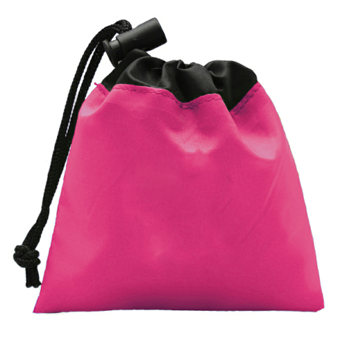 Hot Pink Cinch Tote - Sun Kit as seen from the front