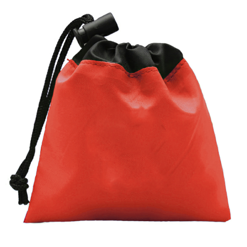 Red Cinch Tote - Sun Kit as seen from the front