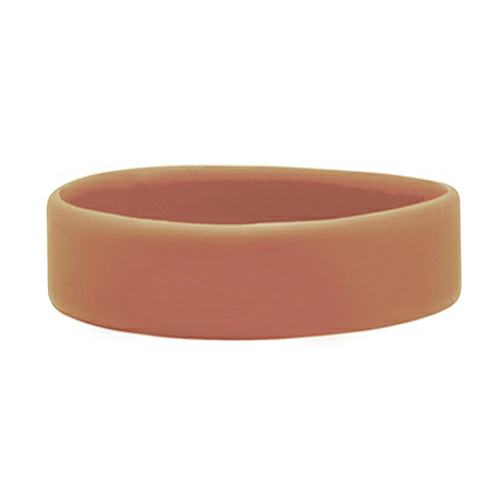 Light Brown Embossed Wristband  1