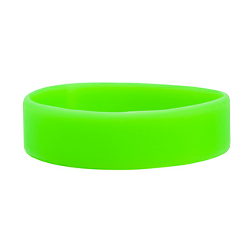 Lime Green Embossed Wristband  1