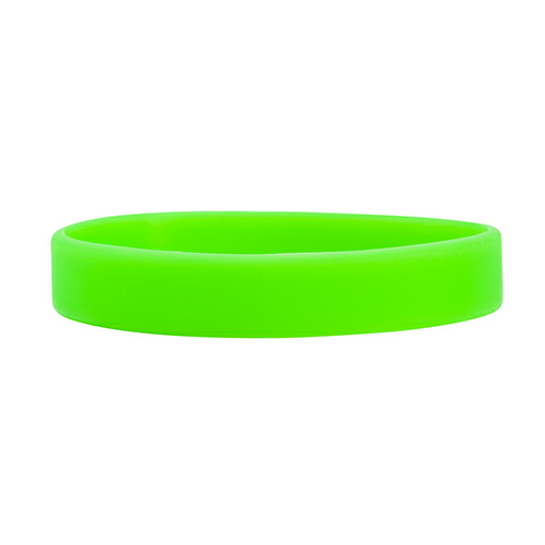 Lime Green Embossed Wristband  1/2