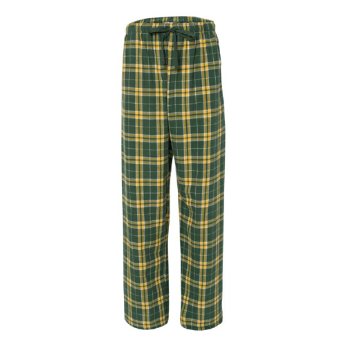Youth Flannel Pants with Pockets - Embroidered