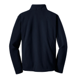 True Navy Port Authority Value Fleece Jacket as seen from the back