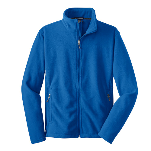 True Royal Port Authority Value Fleece Jacket as seen from the front