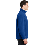 True Royal Port Authority Value Fleece Jacket as seen from the sleeveright