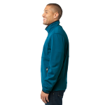 Blue Glacier Port Authority Pique Fleece Jacket as seen from the sleeveright