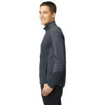 Batgy Pearl Gy Port Authority Colorblock Microfleece Jacket as seen from the sleeveleft