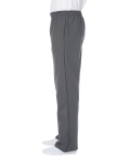 Charcoal DryBlend 9.3 oz., 50/50 Open-Bottom Sweatpants as seen from the sleeveright