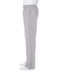 Sport Grey DryBlend 9.3 oz., 50/50 Open-Bottom Sweatpants as seen from the sleeveright